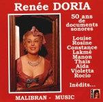 Renée Doria - Cinquante ans d'enregistrements phonographiques