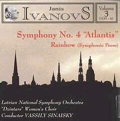 Ivanovs, Janis  (1906-1983) Simfonija nr. 4 « Atlantida »