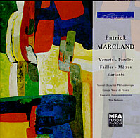 Versets, Paroles, Failles, Mètres, Variants -- Patrick Marcland