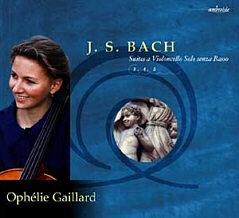 Jean Sébastien Bach, Suites pour violoncelle seul vol.2 par Ophélie Gaillard.