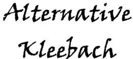 Pour la sauvegarde du Kleebach