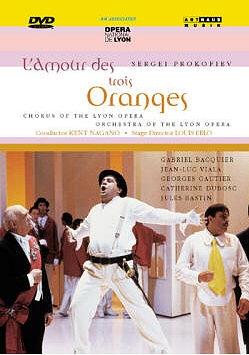 « L'Amour des trois oranges » de Serge Prokofiev.