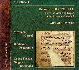Bernard Foccroulle - Ars Musica, les pépites d'orgue