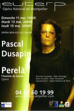 Perelà de Pascal Dusapin