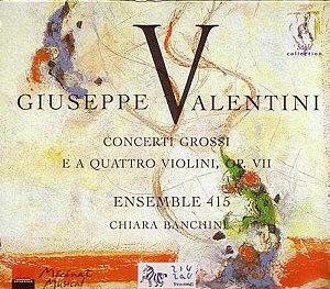 Giuseppe Valentini - Ensemble 415
