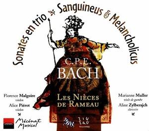 Carl-Philip Emmanuel Bach (1714-1788) - Sanguineus und Melancholicus