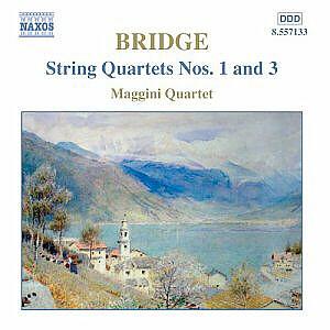 Quatuor Maggini - Un voyage dans le monde de Frank Bridge