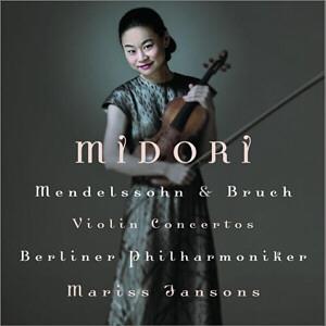 Midori interprète Mendelssohn et Bruch