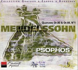 Mendelssohn par le Quatuor Psophos