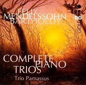 Felix Mendelssohn - L'intégrale des trios avec piano