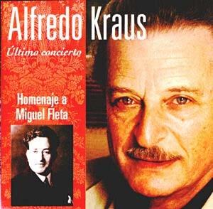 Alfredo Kraus. Último Concierto