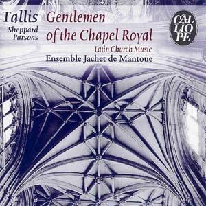 Musiques sacrées latines de la Renaissance anglaise