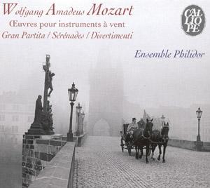 Mozart: Musique pour ensemble à vents