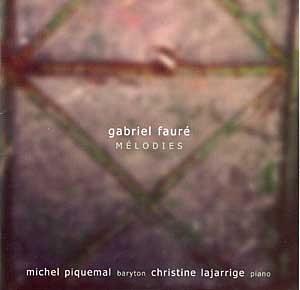 Gabriel Fauré – Mélodies