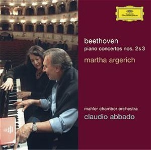 Argerich embrasse Beethoven