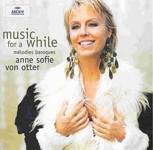Anne Sofie von Otter, mélodies baroques