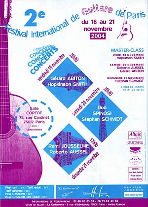 IIe Festival International de Guitare de Paris
