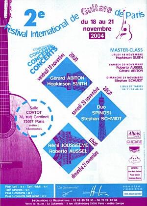 IIe Festival International de Guitare de Paris
