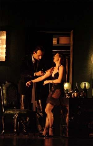Traviata de glace pour Fenice flamboyante