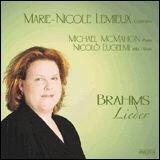Marie-Nicole Lemieux interprète Brahms