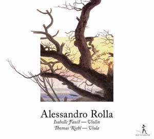 Alessandro Rolla: Duos échevelés pour violon et alto