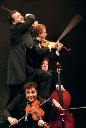 Le Quatuor «Sur la corde rêve»