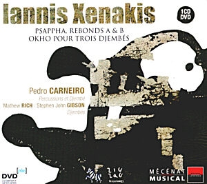 Les Percussions de Xenakis en CD/ DVD+