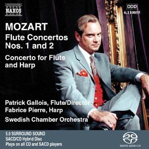 Quand Patrick Gallois s'intéresse à Mozart ...