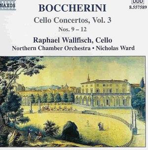 Raphaël Wallfisch et les concertos de Boccherini