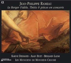 J-P Rameau, Une offrande à la diction françoise