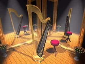 Au chœur de la harpe