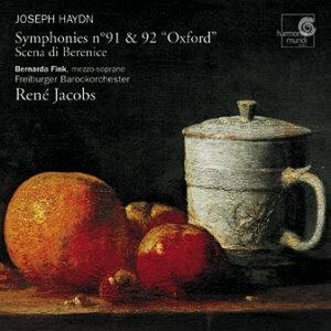 Haydn: Symphonies n°91 & 92 « Oxford »