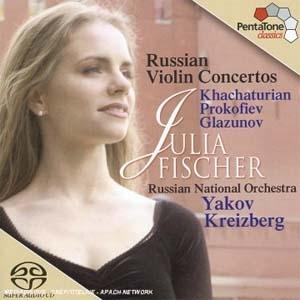 Julia Fischer, Concertos russes