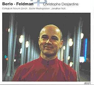 Aux confins du son. L'altiste Christophe Desjardins joue Berio et Feldman