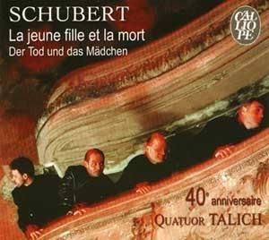 40ème anniversaire du Quatuor Talich: La jeune fille et la mort