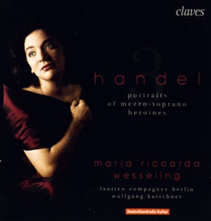 Maria Riccarda Wesseling, une mezzo chez Handel