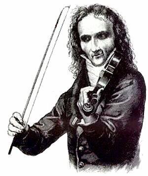 Nicolo Paganini [1782 - 1840] chez Jean-Baptiste Vuillaume