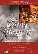 Oliveraies, monastères et pinèdesLes festivals d'été – juillet 2005