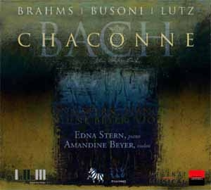Edna Stern: Chaconnes pour Bach