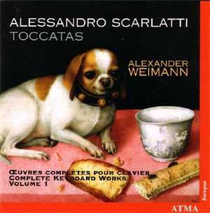 Œuvres complètes pour clavier d'Alessandro Scarlatti