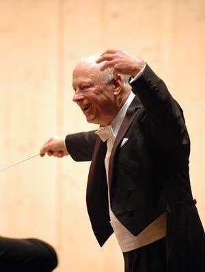 Bernard Haitink est la Musique.
