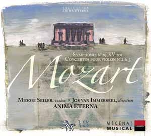 L'art de bien faire: Anima Eterna joue Mozart