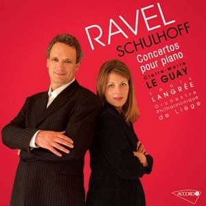 Piano furioso: Claire-Marie Le Guay joue Ravel et Schulhoff.