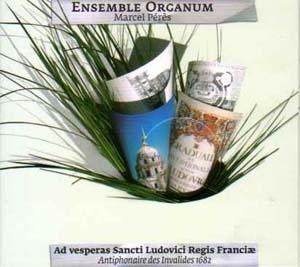 Organum, Vêpres de Saint Louis