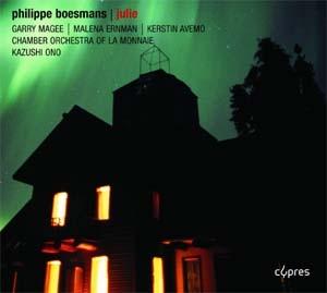 Julie de  Philippe Boesmans. Réussite totale