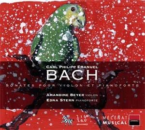 Sonates pour piano de CPE Bach