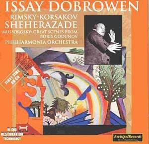 La légendaire Shéhérazade d'Issay Dobrowen enfin en CD
