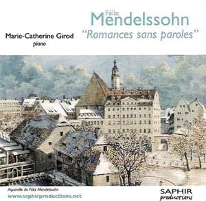Félix Mendelssohn, romances sans paroles: le piano qui chante