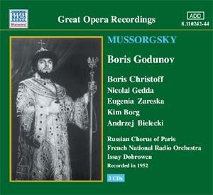 La version Issay Dobrowen de Boris Godounov superbement restaurée en CD