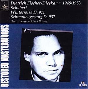 Dietrich Fischer-Dieskau, En sa plus verte nouveauté
